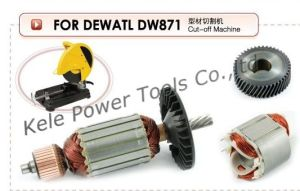 Armatures, Stator and Gear Sets for Power Tools Dewalt871 pictures & photos