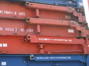 40′ Flat Rack Container pictures & photos