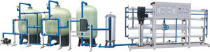 Purified Water Treatment Machinery /Plant China Manufacture 12000L/H pictures & photos
