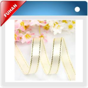 Polka DOT Grosgrain Satin Ribbon Silk Ribbon pictures & photos