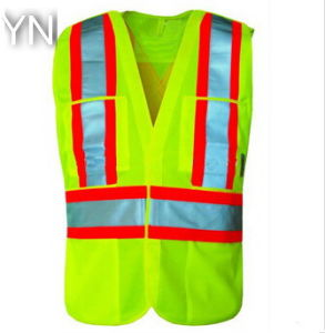 Reflective Safety Vest Provides High Visibility Day & Night for Running, Cycling, Walking etc pictures & photos