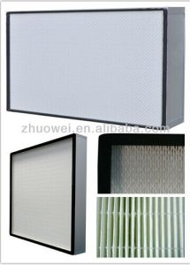 ULPA Air Fillter H13 Mini Pleated HEPA Air Filter pictures & photos