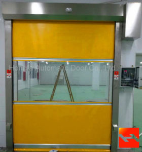 High Performance Rapid PVC Roller Shutter Industrial Door (HF-145) pictures & photos