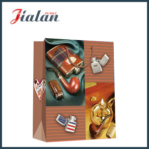 Wholesale Promotion Men′s Gift Packing Paper Shopping Gift Bag pictures & photos