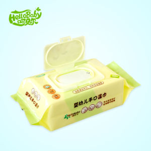 Spunlace Nonwoven Baby Wet Wipes 30 PCS, Wet Facial Tissue Wipe pictures & photos