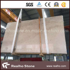 Polished Yellow/Beige Slab/Marble Slab for Commerical Project