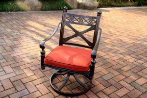 Garden Comfort Aluminum Swivel Chair Furniture pictures & photos