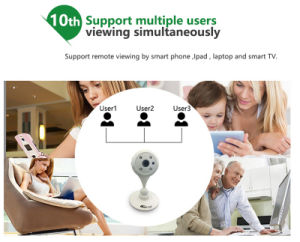 720p WiFi Wireless Video Security Camera Support Voice Intercom pictures & photos