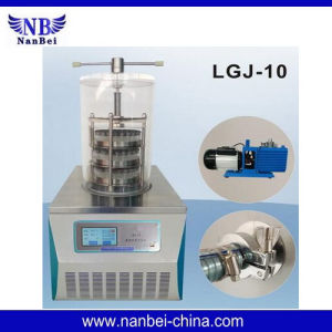 Standard Type Laboratory Vacuum Freeze Dryer with Factory Price pictures & photos