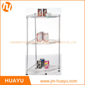 Homeware 3-Tier Wire Corner Shelf, Wire Rack, Display Stand pictures & photos
