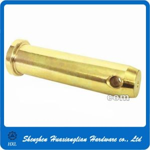 OEM Made Machined Turning Brass Clevis Pin pictures & photos