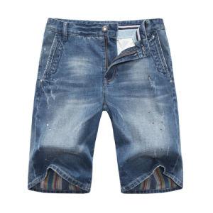 2017 Summer Men Cotton Denim Shorts Basic Jean Shorts pictures & photos