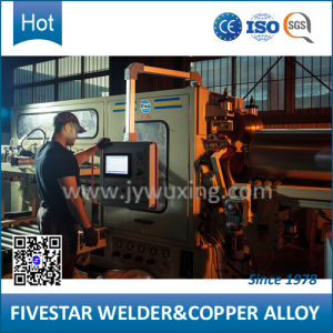 High Speed 3 Phase Frequency Control Hot DIP Galvanized Drum Automatic Seam Welder pictures & photos