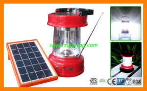3W Solar Cell Camping Bulb with Radio pictures & photos