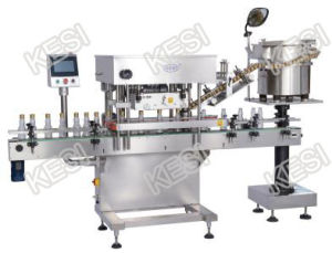 Automatic Jar Linear Capping Machine pictures & photos