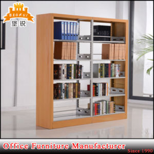 Modern School Furniture Metal Library Book Shelf pictures & photos
