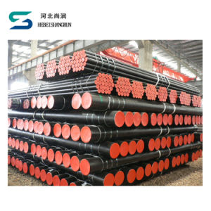 Circular Seamless Carbon Steel Pipe for Liquid and Petroleum for Low Temperature Service pictures & photos