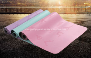 Free of Latex Rubber & Toxic Chemicals PU Yoga Mat pictures & photos