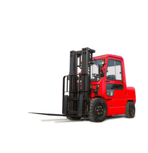 3.5ton Diesel Forklift with Cabin pictures & photos