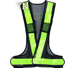 High Reflective Vest with Reflective Crystal Tape pictures & photos