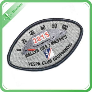 2016 Laser Cut Custom Clothing Garment Private Woven Label pictures & photos