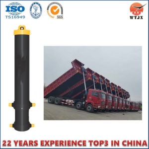 Front Mount Telescopic Hydraulic Cylinder for Dump Trucks pictures & photos
