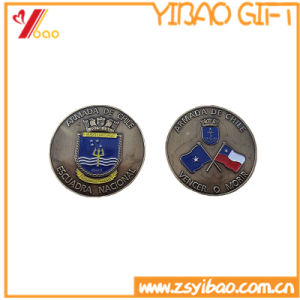 High Quality Antique Gold Plated 3D Metal Challenge Coin pictures & photos