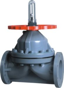Best Factory CPVC Diaphragm Valve, Industrial Plastic Valve, PVC Valve pictures & photos