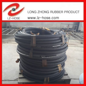 En 856 2sp High Pressure Oil Rubber Hose 2""