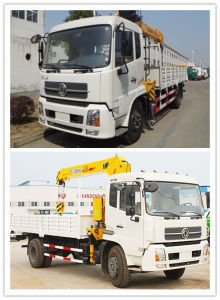 Heavy Duty Dongfeng Truck with Crane for 190HP 4*2 pictures & photos