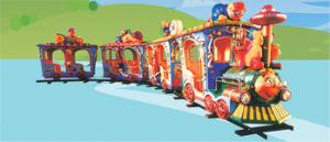 Amusement Park Mini Electric Track Train pictures & photos