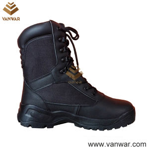 Good Design Combat Military Boots of Black (WCB048) pictures & photos