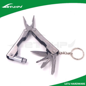 Pocket Size Metal Multitool with Keychain