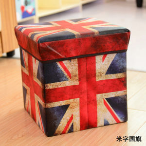 Wholesale Folding Storage Stool Storage Chair Multifunctional Storage Box pictures & photos