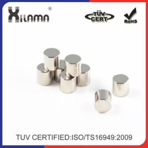 Customized Size N52 Strong Cylinder Permanent Neodimium Industrial Magnet pictures & photos