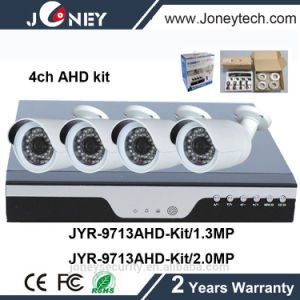 4CH Ahd DVR Kit 4 Channel with 960p HD Ahd Waterproof IR Cameras pictures & photos