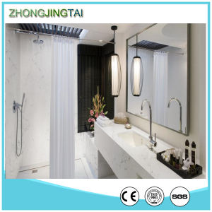 Italian Fantasy Platinum Artificial White Quartz Stone Small Kitchen Vanity Tops pictures & photos