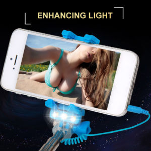 New Monopod Selfie Stick with LED Flashlight (rk-mini4) pictures & photos