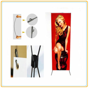 Ecomonic X Banner Stand (60*160cm) with Printed PVC Banner pictures & photos