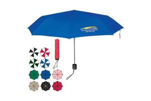 3 Fold Printed Umbrella (BR-FU-125) pictures & photos