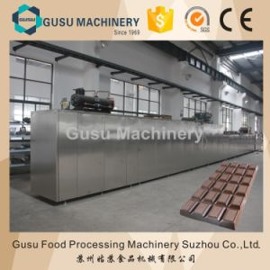 Ce Gusu Machinery Full Automatic Chocolate Moulding Machine pictures & photos