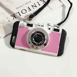 New Fashion Camera Style Phone Case for iPhone 6/6plus