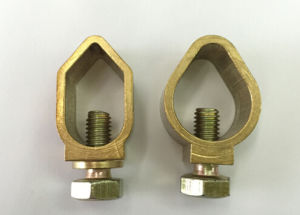 Brass Clamp for Connecting Earthing Rod and Wire pictures & photos