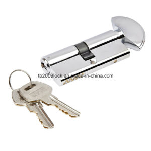 High Security Double Pins Groove Key Cylinder (CYL -05-01CP) pictures & photos