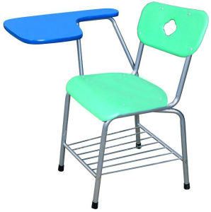School Classroom Furniture Student Sketching Chair with Writing Pad pictures & photos