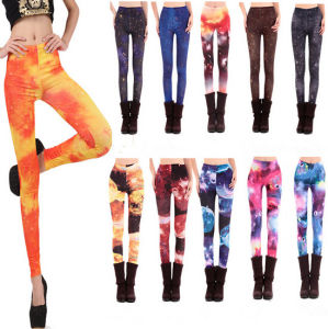 Wholesales High Quality New Style Wonen Fashion Printed Leggings (88907) pictures & photos