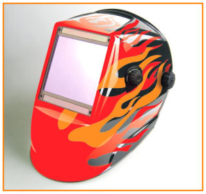 4 Sensors Big View Auto Darkening Welding Helmet (WH9801324) pictures & photos