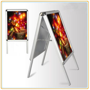Double Sided Poster Stands, Sidewalk Sign Pavement Sign pictures & photos