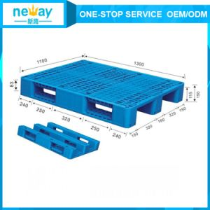 Plastic Material Single Faced Style Heavy Duty Plastic Pallet pictures & photos