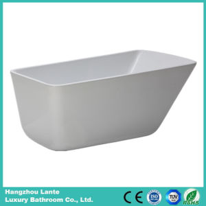 Acrylic Fiberglass Seamless Bathtub with Drain (LT-26D) pictures & photos